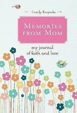 NEW Memories from Mom: My Journal of Love and Faith HARDCOVER book