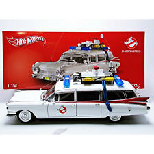 Hot Wheels Collector Ghostbusters Ecto-1 Die-cast Vehicle (1:18 Scale) | BCJ75