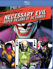 Necessary Evil: Super-Villains of DC Com Blu-ray