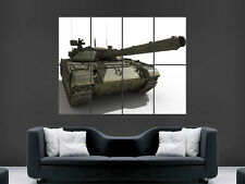 ARMY TANK POSTER  ART WALL LARGE IMAGE GIANT PRINT IMAGE