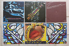 "Orchestral Manoeuvres  6 x 7""  Maid Of + Souvenir + Tesla + Genetic + Sailing On"