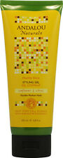 Brilliant Shine Sunflower & Citrus Styling Gel, Andalou Naturals, 6.8 oz