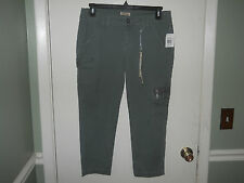 BeBop Jeans Ladies/Juniors Stretch Denim Capris Size 11 Army Green NWT