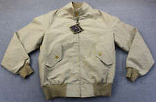 BILLS KHAKIS Made in USA Mens Tan COLBY Full Zip WINDBREAKER JACKET COAT NWT S
