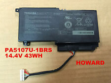 New 43WH Genuine Original Battery for Toshiba PA5107U-1BRS Satellite L55 L55t