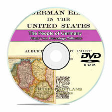 Germany People Cities Family Tree History and Genealogy 102 Books DVD CD B21