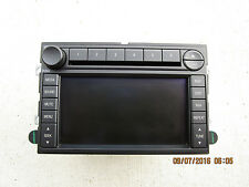 07 FORD FUSION SEL 3.0L V6 EFI 4D SEDAN 6 DISC CD PLAYER NAVIGATION GPS RADIO