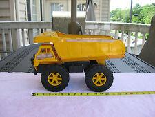 """Vintage Steel Roder Dump Truck 15 1/2"""" Length X 9 1/2"""" Height X 7 3/4"""" Width!"""