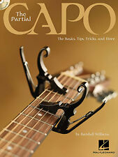 Randall Williams The Partial Capo Learn to Play Guitar TAB Music Book & CD