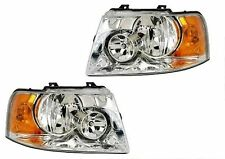 DAMON CHALLENGER 2006 2007 SET PAIR HEAD LIGHTS FRONT LAMPS HEADLIGHTS RV