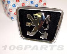 Peugeot 106 S2 Bonnet Badge All 106 Models 96-03 inc XS RALLYE GTi QUIKSILVER