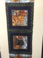 Chiens de chasse hautman vip tissus quilting craft 100% coton panel