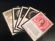 MTG MAGIC 3EDT BLACK BORDER LOT DES 5 CERCLES DE PROTECTION COP (NM)