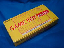 Gameboy pocket Yellow Edition Boxed