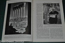 1941 magazine article about the MIDDLE EAST, early WWII, people, etc