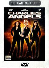 CHARLIE'S ANGELS Cameron Diaz Drew Barrymore DVD Superbit Edition NEW Sigillato