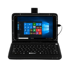 "iRULU Walknbook 8"" 32G Intel Windows 10 Laptop Quad Core  IPS Tablet W/ Key"