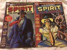 Will Eisner's The Spirit The New Adventures - Issue 1 and 3 - ALAN MOORE - RARE