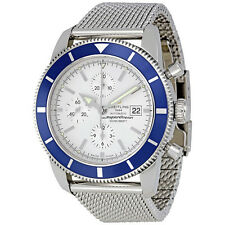 Breitling Superocean Heritage Chronograph Silver Dial Automatic Mens Watch
