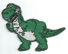 Toy Story Rex the Dinosaur Small Character Cloth Patch - Sew-on / Iron-on Patch