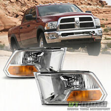 2009-2017 Dodge Ram 1500 Replacement Headlights Headlamps Pair 09-17 Left+Right