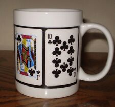 A ROYAL FLUSH COFFEE CUP FROM SKYLINE CASINO