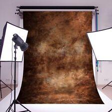 KIT FONDALE STUDIO FOTOGRAFICO SFONDO MARRONE SCENARIO MURO PARETE 1.5*2.1M