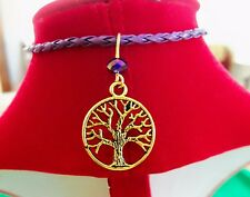 TREE of LIFE BRACELET Charm Hippie Karma Boho ~ HANDMADE New ~ Ships FREE to USA