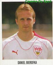 454 DANIEL BIEROFKA GERMANY VFB STUTTGART STICKER FUSSBALL 2006 PANINI