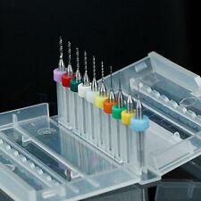 10x PCB-CNC-gedruckte Leiterplatte Hartmetall-Mikrobohrer-Bits gesetztes Neu