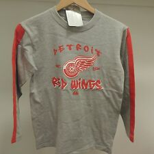 NHL Detroit Red Wings Long Sleeve Hockey Shirt New Youth X-LARGE