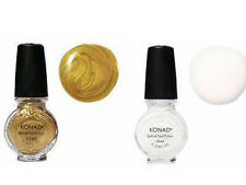 Konad USA Special Polish Gold+White 11 ml