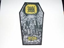 NAPALM DEATH SCUM WOVEN PATCH