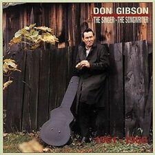 The Singer-- The Songwriter: 1961-1966 Don Gibson Box Set CD's, 1993 Bear Family