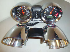 SUZUKI BANDIT 600 1200 *MK2* CHROME CLOCK COVERS BOWLS SPEEDO & REV COUNTER SET