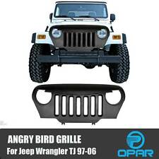 Angry Bird Front Matte Grill Grille Fit 4 Rubicon Sahara TJ Jeep Wrangler 97-06