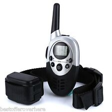Hot E613 LCD Pet Dog Training Collar Rechargeable 1000m RCElectric Tool EU PLUG