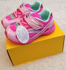 TSUKIHOSHI Glitz SNEAKERS Athletic SHOES Infant Toddler Girls 8 M NEW
