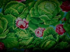 Kaffe Fassett Early Rare OOP Cabbage Patch Fabric Fat Quarter 100% Cotton