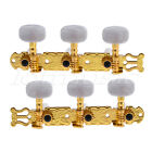 Acoustic Classical Guitar String Tuning Pegs Tuners Keys Machine Heads Gold