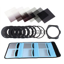 6pcs ND2 ND4 ND8 Gradual ND2 4 8 Filter Set + 9pcs Ring Adapter for Cokin P LF6