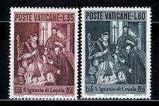 VATICANO 1956 230/31 MUERTE DE SAN IGNACIO DE LOYOLA 2v