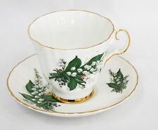 Royal Grafton Lilly of the Valley Tea Cup & Saucer Bone China England