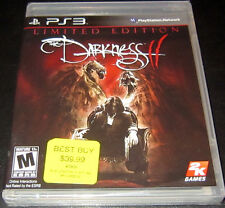 Darkness II Limited Edition PS3 Playstation 3 Brand New 2