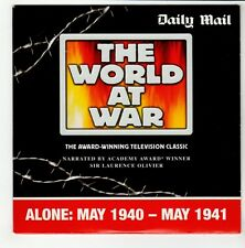 (GO657) The World At War, Alone 1940-41 - Daily Mail DVD