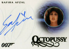 James Bond 007 Classics Autograph Card A266 Safira Afzal as Octopussy Girl