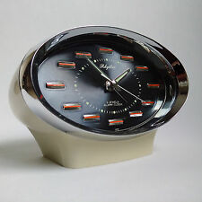 Rhythm Alarm Clock Space Age Retro Vintage Pop Art Wind Up Mechanical Seventies