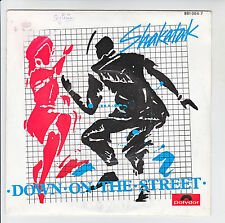 "SHAKATAK Disque Vinyl 45T SP 7"" DOWN ON THE STREET - HOLDING ON - POLYDOR 881064"