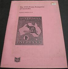 The 1913 Penny Kangaroo Of Australia By Major H. Dormer Legge