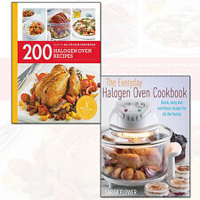 Everyday Halogen Oven Cookbook and 200 Halogen Oven Recipes 2 Books Collection